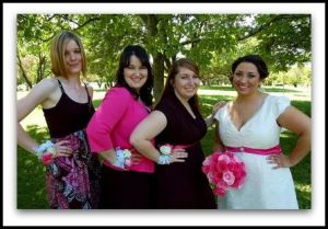 honorary bridesmaids