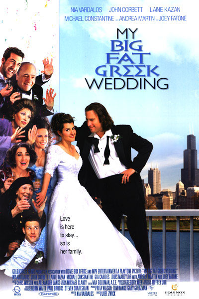 Big Fat Greek Wedding movie