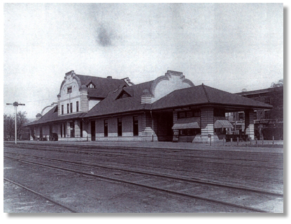 depot when it was a railway station