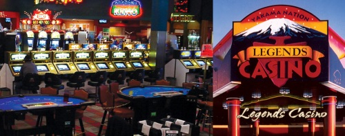 Legends Casino In and Outside