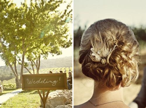 oncewed chalkboard wedding