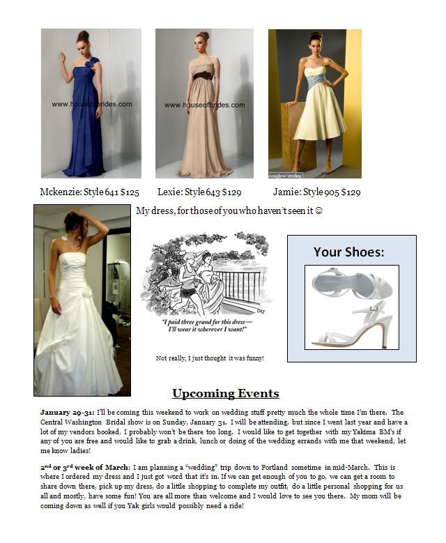 Brides Newsletter 84